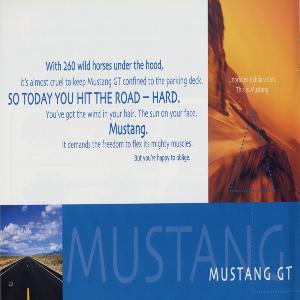 free 2002 ford mustang sales brochures