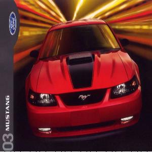 free 2003 ford mustang sales brochures
