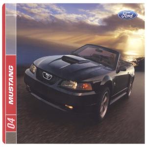 free 2004 ford mustang sales brochures