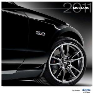 free 2011 ford mustang sales brochures