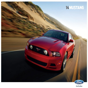 free 2014 ford mustang sales brochures