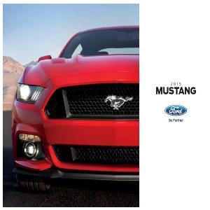 free 2015 ford mustang sales brochures