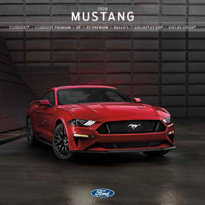 free 2020 ford mustang sales brochures
