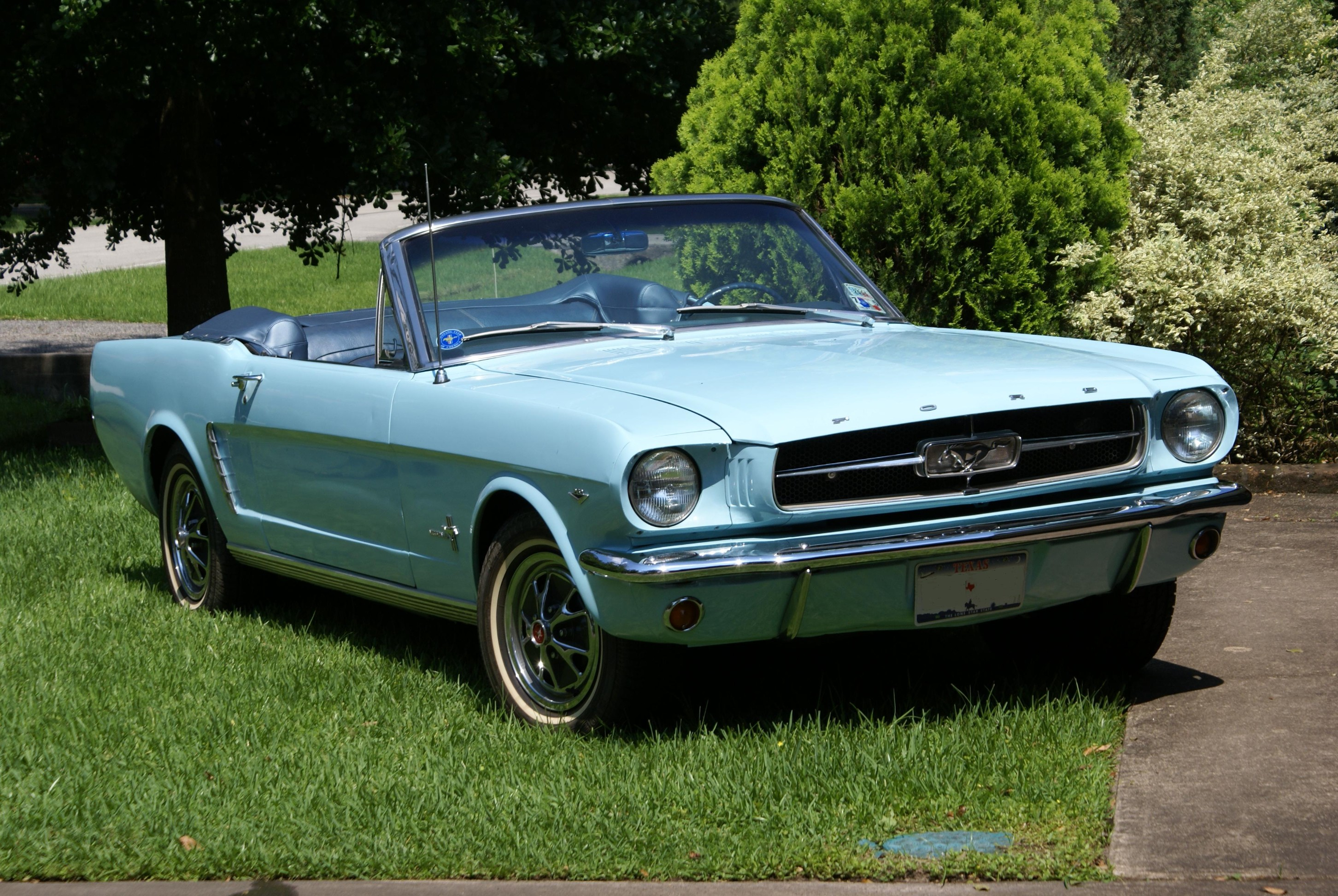 1963 Baby Blue Mustang