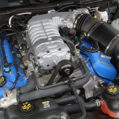 2011 Ford Shelby GT500 engine