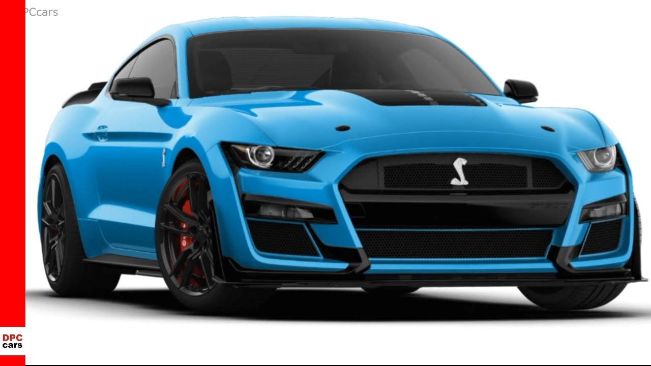 Velocity Blue 2020 Ford Mustang