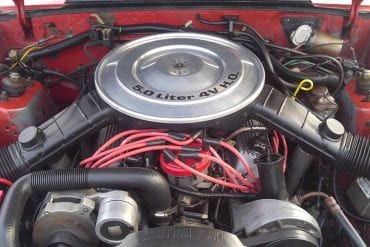 1985 Mustang 5.0 engine