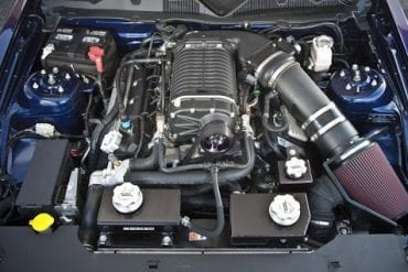 2012 Ford Shelby GT500 engine