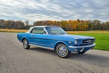 1964.5 Mustang Color information