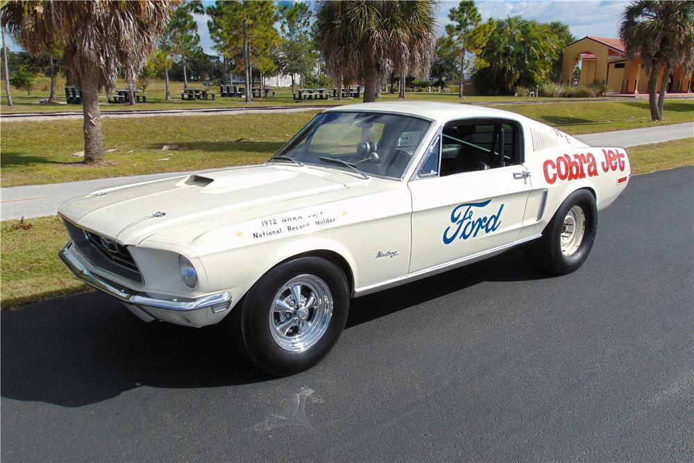1968 NHRA Mustang GT Cobra Jet