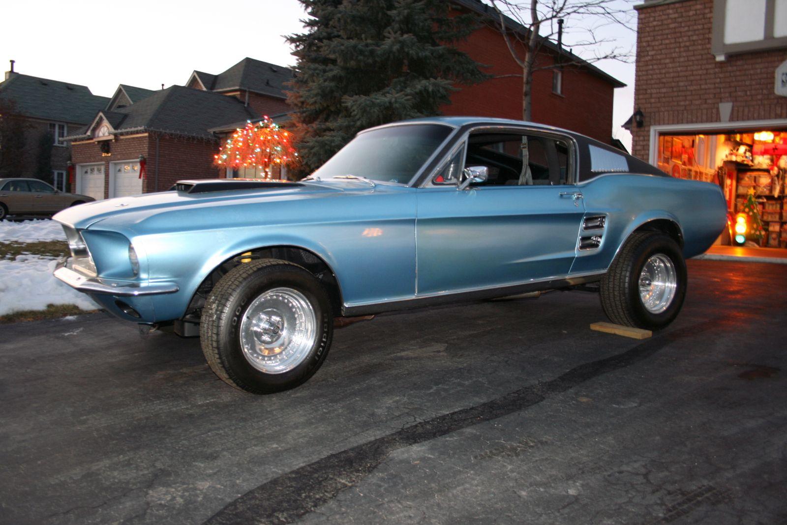 1967 Mustang Stallion Car