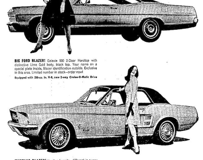 1967 Ford Mustang Blazer Limited Edition
