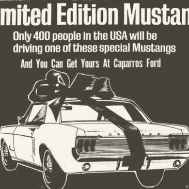 1967 Ford Mustang Limited Edition 400