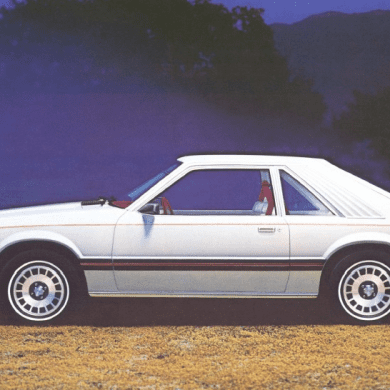 1980 Ford Mustang Ghia