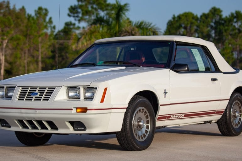 1984 Ford Mustang Anniversary GT
