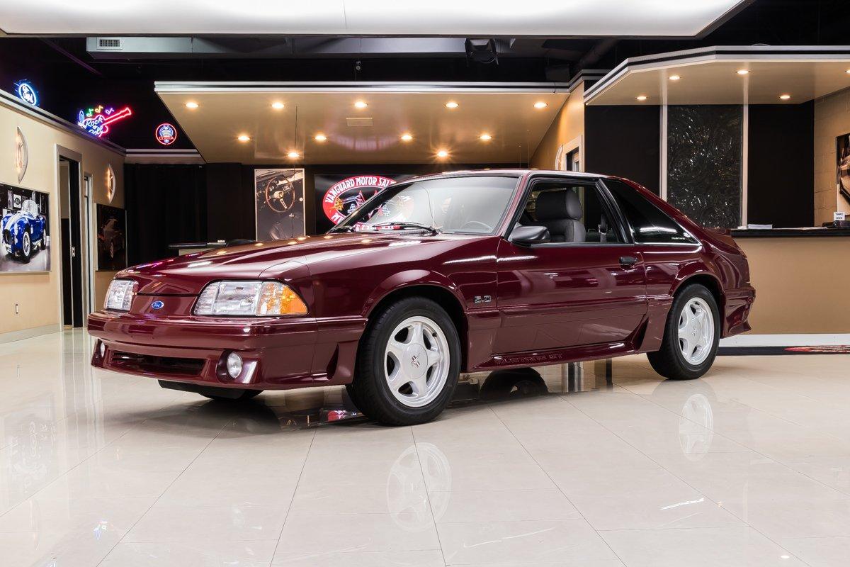 1989 Mustang Specs