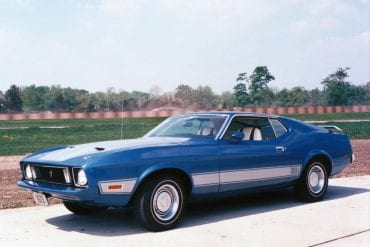 1973 ford mustang research