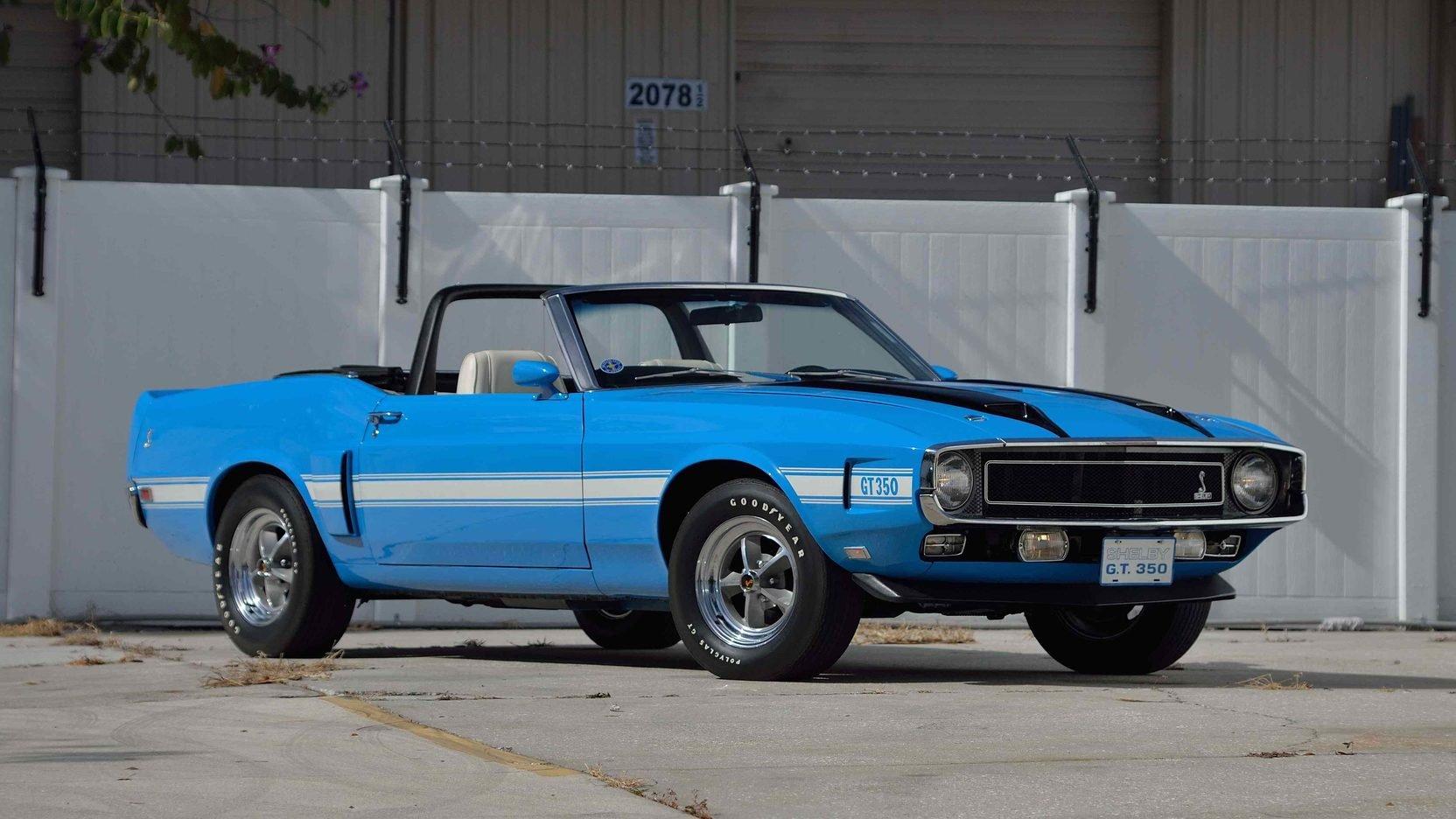 1970 Convertible GT350