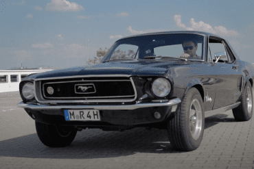 1968 Ford Mustang 289 V8 Coupe - Sound + CarPorn