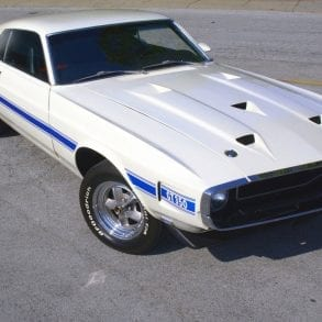 White 1969 GT350