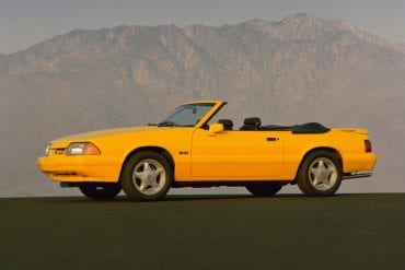1993 Ford Mustang Research