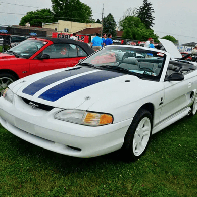1997 Ford Mustang SVO Woodward Dream Cruise