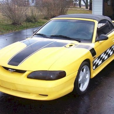 1998 Spring Edition Mustang