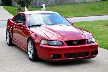 2002 Ford Mustang SVT Cobra
