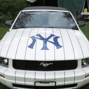 2005 Ford Mustang Yankees Limited Edition