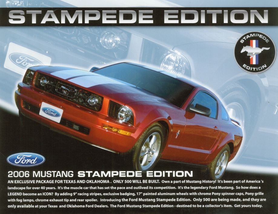 2006 Ford Mustang Stampede Edition