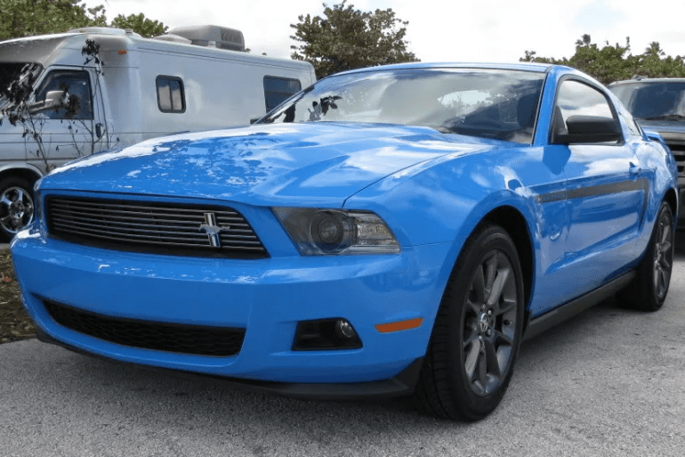 2012 Ford Mustang Club of America Special Edition