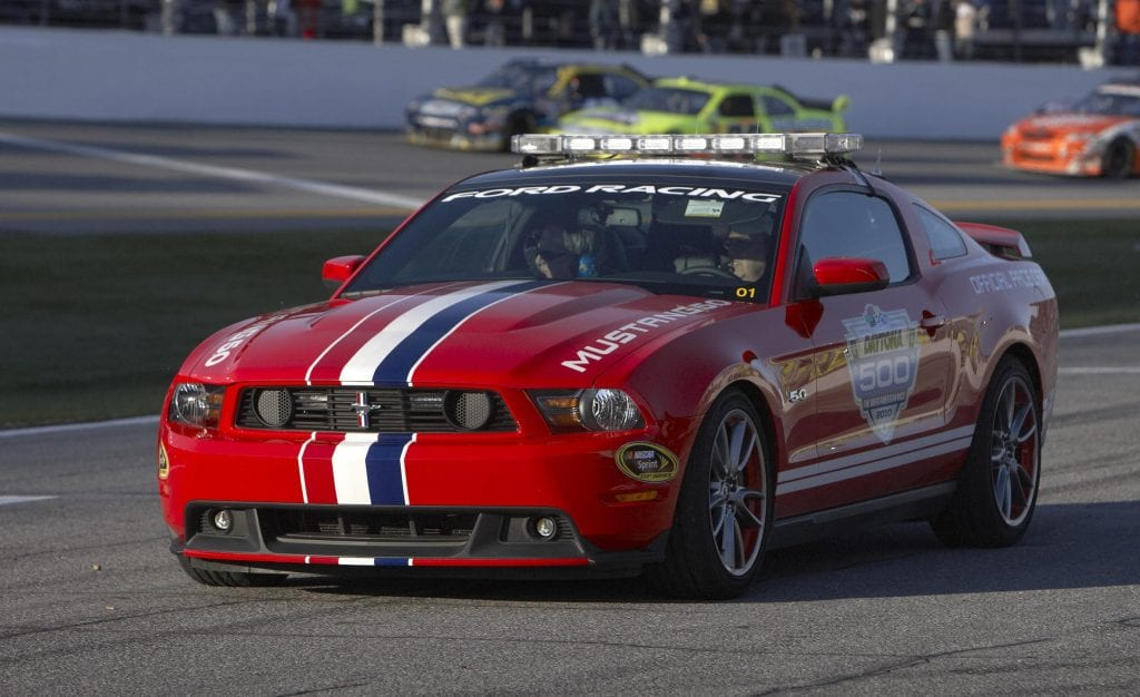 2011 Ford Mustang GT Pace Cars