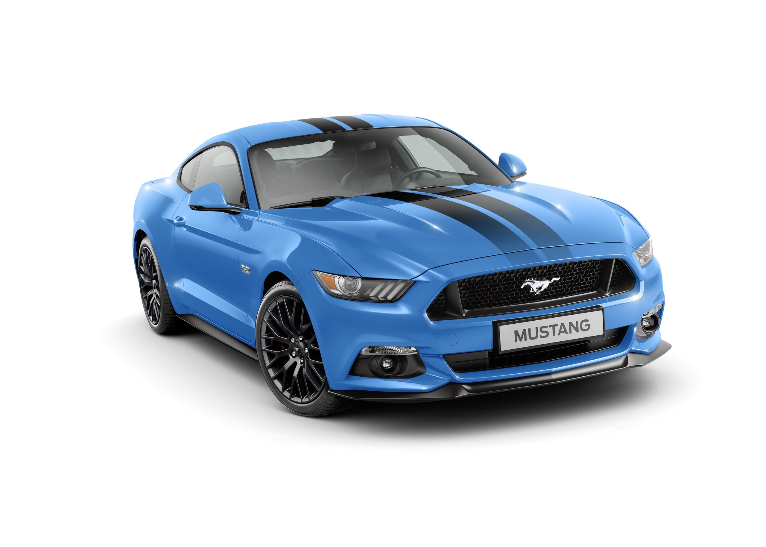 2017 Ford Mustang Blue Edition