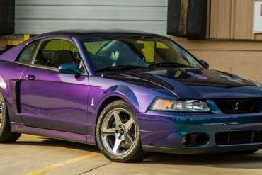 Mystic Chrome 2003 Mustang