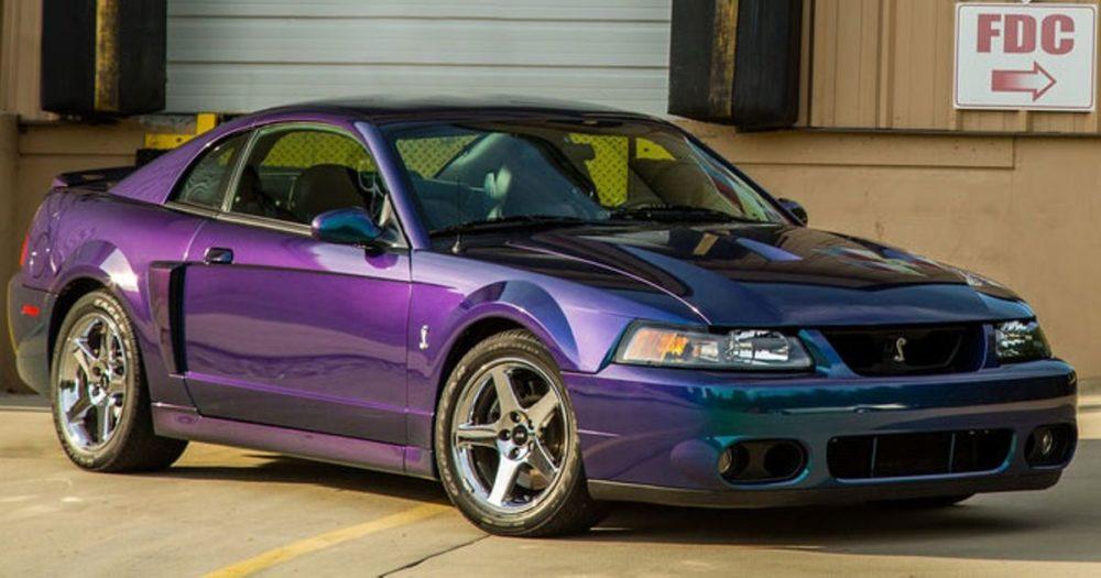 Mystic Chrome 2003 Mustang