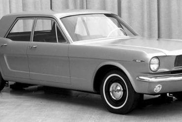 1965 Mustang Sedan