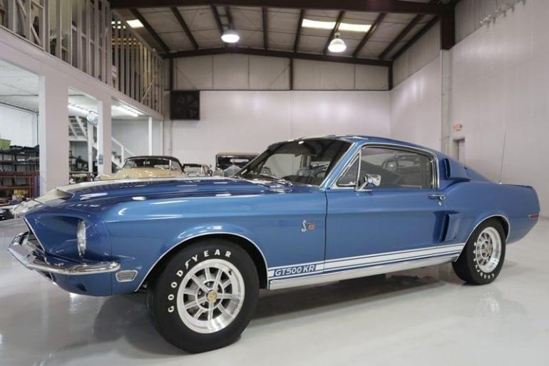 Blue 1968 GT500 KR