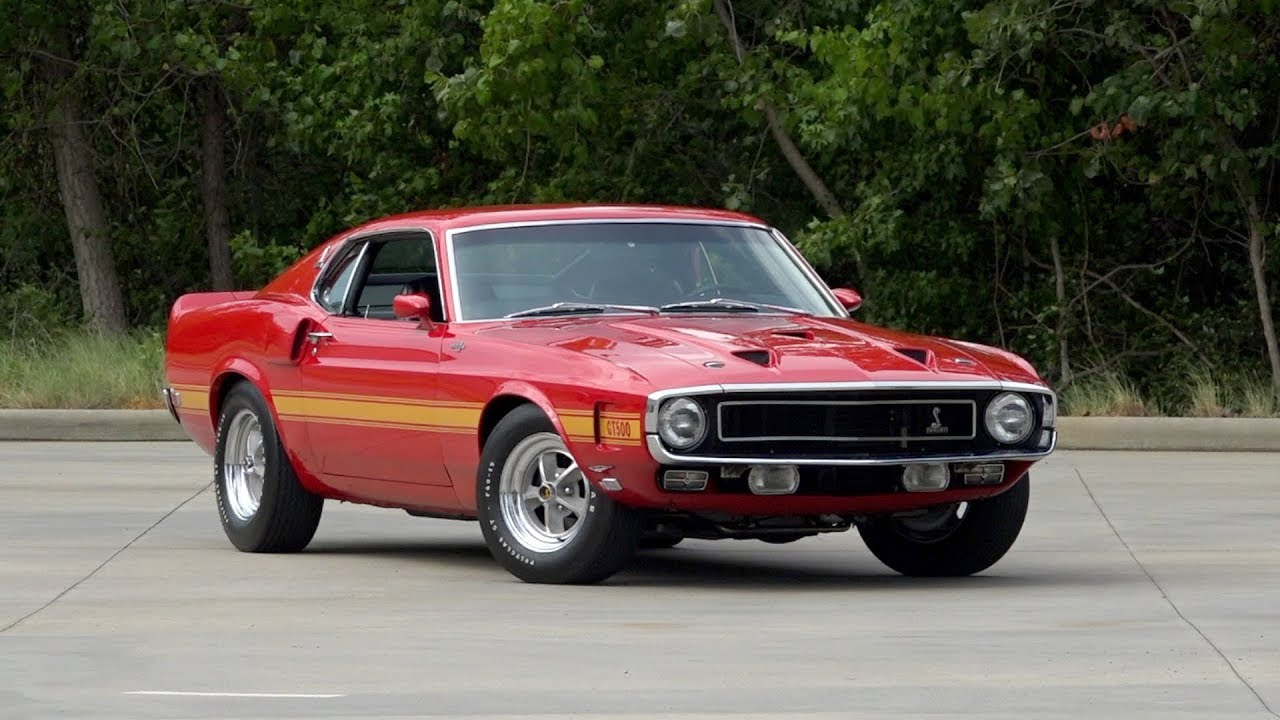 Candyapple Red 1969 GT500