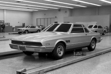 1971 Ford Mustang II Concept