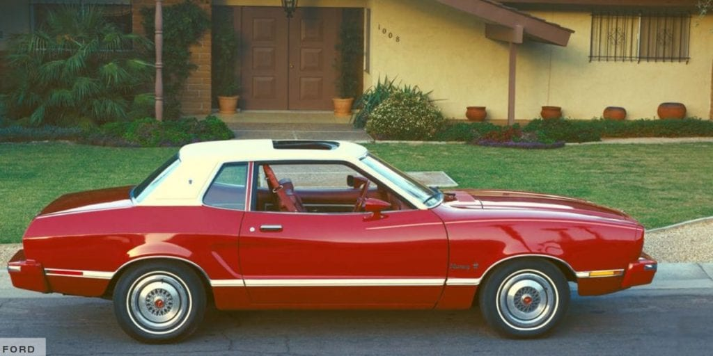 The 1974 Ford Mustang II Notchback