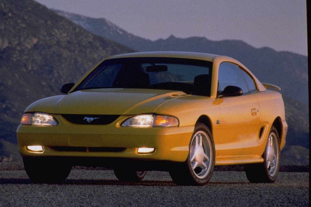 The 1994 Ford Mustang GT Coupe.
