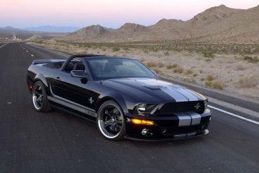 2007 Ford Mustang Shelby GT500 40th Anniversary Package