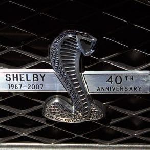 40th Anniversary GT500 emblem