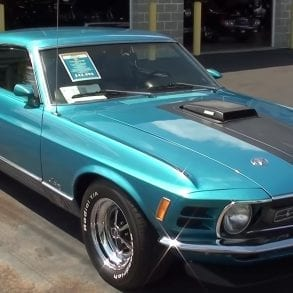 Video: 1970 Ford Mustang Mach 1 Fastback Walkthrough