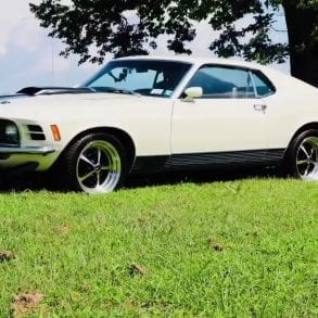 Video: Restored 1970 Ford Mustang Mach 1 Car Review