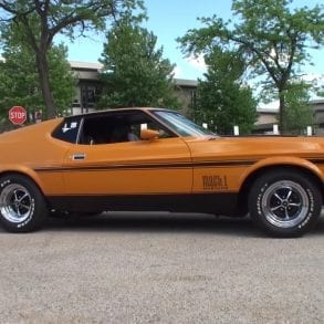 Video: 1972 Ford Mustang Mach 1 351 Engine Sound