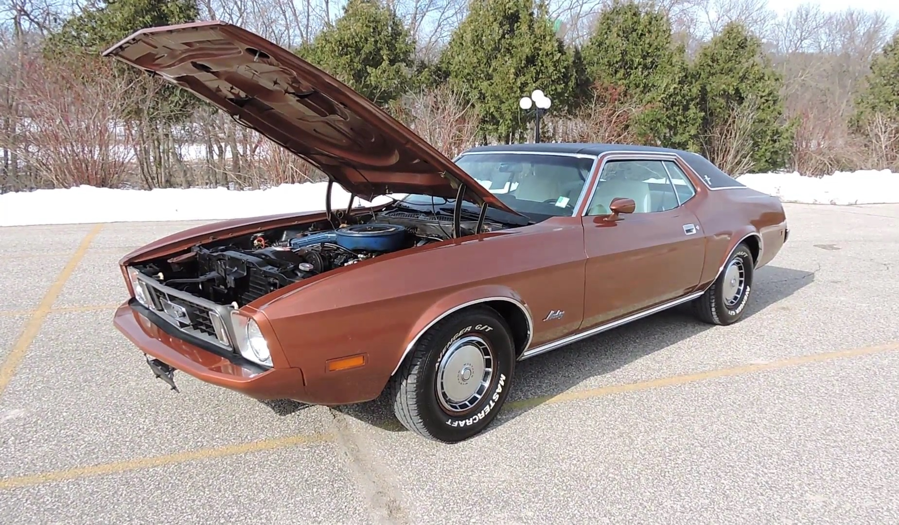 Video: 1973 Ford Mustang Coupe Walkthrough