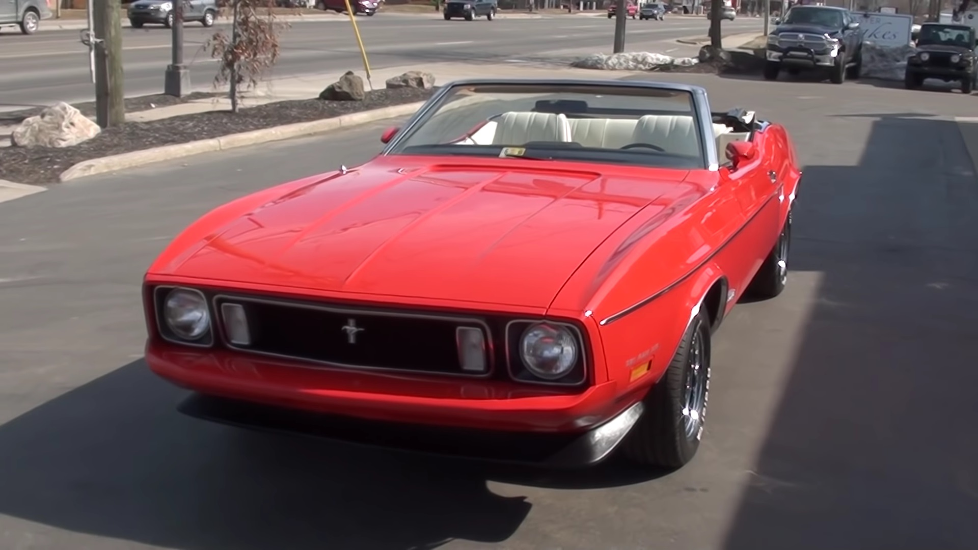 Video: 1973 Ford Mustang Convertible Overview