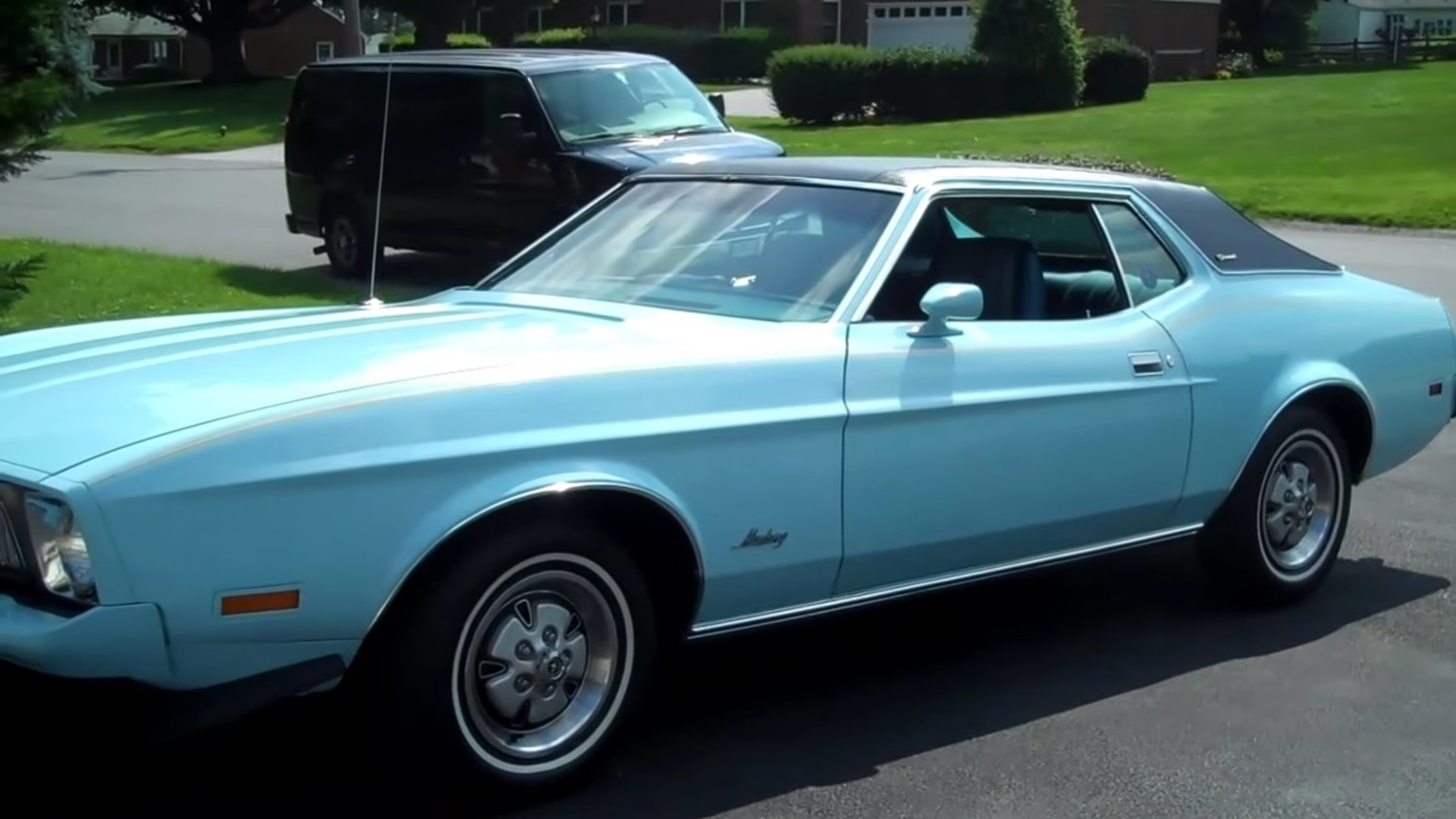Video: 1973 Ford Mustang Grande Overview