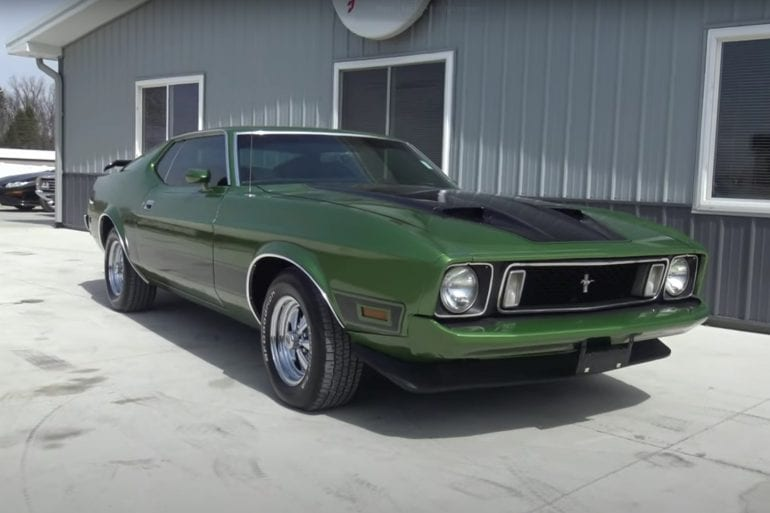 Video: Beautiful 1973 Ford Mustang Mach 1 Walkaround